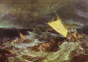J.M.W. Turner The Shipwreck oil painting artist