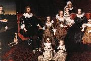 JOHNSON, Cornelius Sir Thomas Lucy and his Family sg oil painting picture wholesale
