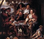 JORDAENS, Jacob Eating Man f oil painting picture wholesale