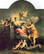 Jacopo Amigoni Juno Receives the Head of Argus oil painting artist