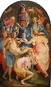 Jacopo Pontormo Deposition 02 oil painting artist
