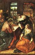 Jacopo Robusti Tintoretto Christ in the House of Martha and Mary oil painting picture wholesale