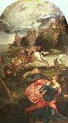 Jacopo Robusti Tintoretto St.George and the Dragon oil painting picture wholesale