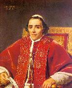Jacques-Louis  David Portrait of Pope Pius VII_2 oil painting picture wholesale