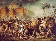 Jacques-Louis David The Sabine Women oil painting picture wholesale