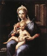 Jakob Alt Madonna and Child sgw oil painting artist