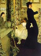James Abbott McNeil Whistler Harmony in Green and Rose oil painting picture wholesale