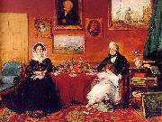 James Holland The Langford Family in their Drawing Room oil painting picture wholesale