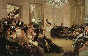 James Tissot Hush ! oil painting picture wholesale