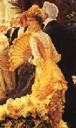 James Tissot London Visitors oil painting picture wholesale
