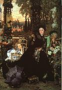 James Tissot Une Veuve  (A Widow) oil painting picture wholesale