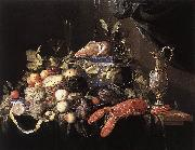 Jan Davidsz. de Heem Still-Life with Fruit and Lobster oil painting picture wholesale