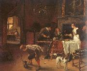 Jan Steen Easy Come, Easy Go oil painting picture wholesale