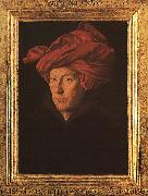 Jan Van Eyck A Man in a Turban   3 Sweden oil painting reproduction