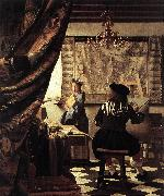 Jan Vermeer The Art of Painting oil painting picture wholesale