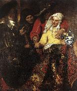 Jan Vermeer The Procuress oil painting artist