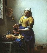 JanVermeer The Milkmaid oil painting picture wholesale