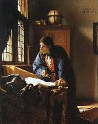 JanVermeer The Geographer oil painting picture wholesale