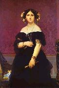 Jean Auguste Dominique Ingres Portrait of Madame Moitessier Standing oil painting picture wholesale