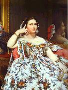 Jean Auguste Dominique Ingres Portrait of Madame Moitessier Sitting. oil painting picture wholesale