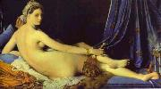 Jean Auguste Dominique Ingres Le Grande Odalisque oil painting picture wholesale