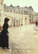 Jean Beraud The Wait (san11) oil painting picture wholesale