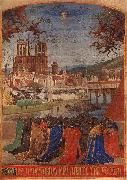Jean Fouquet Descent of the Holy Ghost upon the Faithful oil painting artist