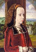 Jean Hey Portrait of Margaret of Austria oil painting artist