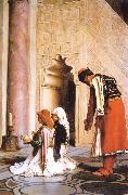 Jean Leon Gerome Young Greeks at the Mosque oil painting picture wholesale