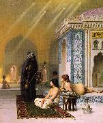 Jean Leon Gerome Harem Pool oil painting picture wholesale