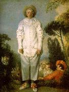 Jean-Antoine Watteau Gilles as Pierrot oil painting picture wholesale