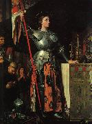 Jean-Auguste Dominique Ingres Joan of Arc at the Coronation of Charles VII oil painting artist