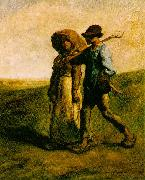 Jean-Franc Millet The Walk to Work oil painting artist