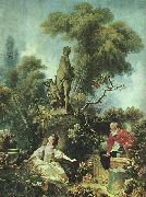 Jean-Honore Fragonard The Meeting oil painting picture wholesale