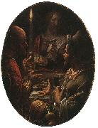 Joachim Wtewael Supper at Emmaus oil painting artist