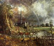 John Constable Salisbury Cathedral from the Meadows2 oil painting picture wholesale