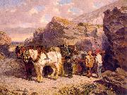 John F Herring The Quarry oil painting artist
