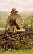 John George Brown The Berry Boy oil painting picture wholesale