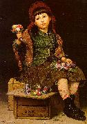 John George Brown Buy a Posy oil painting picture wholesale