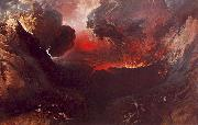 John Martin The Great Day of His Wrath oil painting artist
