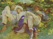 John Singer Sargent The Siesta oil painting picture wholesale