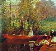 John Singer Sargent A Boating Party oil painting picture wholesale