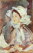 John Singer Sargent Lady in a Bonnet oil painting picture wholesale