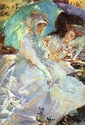 John Singer Sargent Reading oil painting picture wholesale