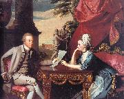 John Singleton Copley Mr Mrs Ralph Izard oil painting picture wholesale