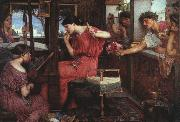 John William Waterhouse Penelope and the Suitors oil painting artist