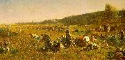 Jonathan Eastman Johnson The Cranberry Harvest on the Island of Nantucket oil painting picture wholesale