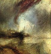 Joseph Mallord William Turner Snowstorm Steamboat off Harbor's Mouth oil painting picture wholesale
