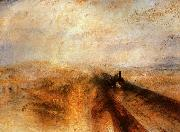 Joseph Mallord William Turner Rain, Steam and Speed The Great Western Railway oil painting picture wholesale