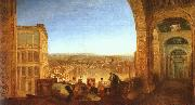 Joseph Mallord William Turner Rome from the Vatican oil painting artist